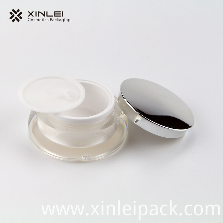15g Round Cream Plastic Jar